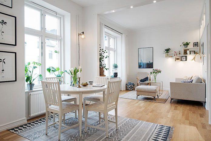 Styl skandynawski - oświetlenie domu