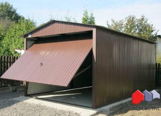garaż blaszany - Garaże Interstal