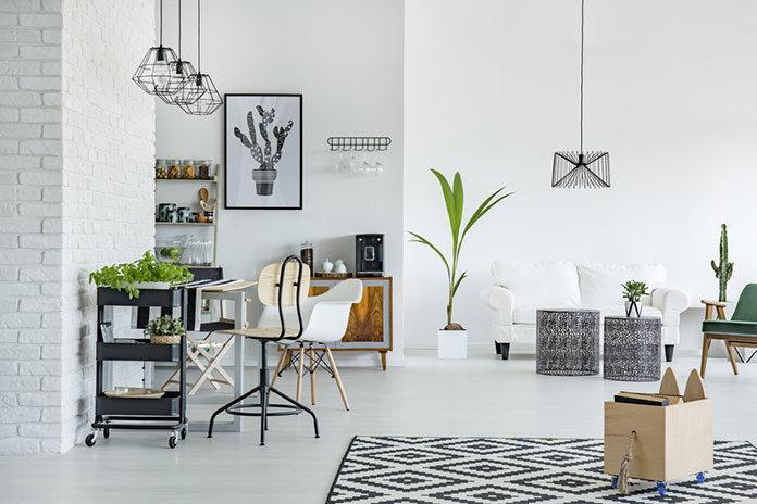 Urządzanie mieszkania - interesujące pomysły